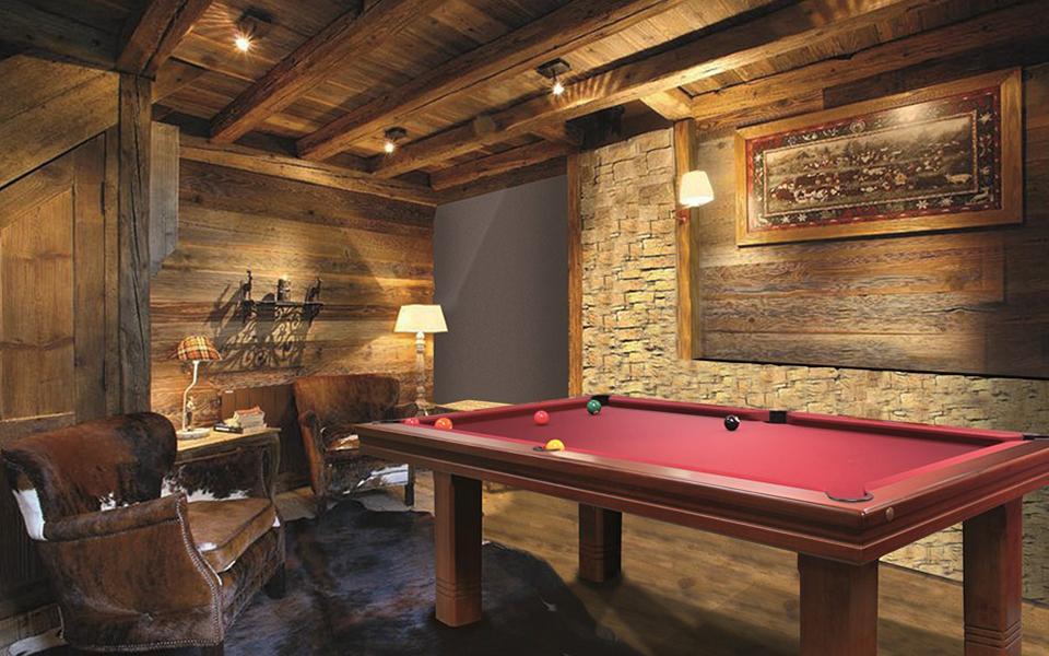 Mesa de billar Club - contemporáneo - Billares modernos - Toulet