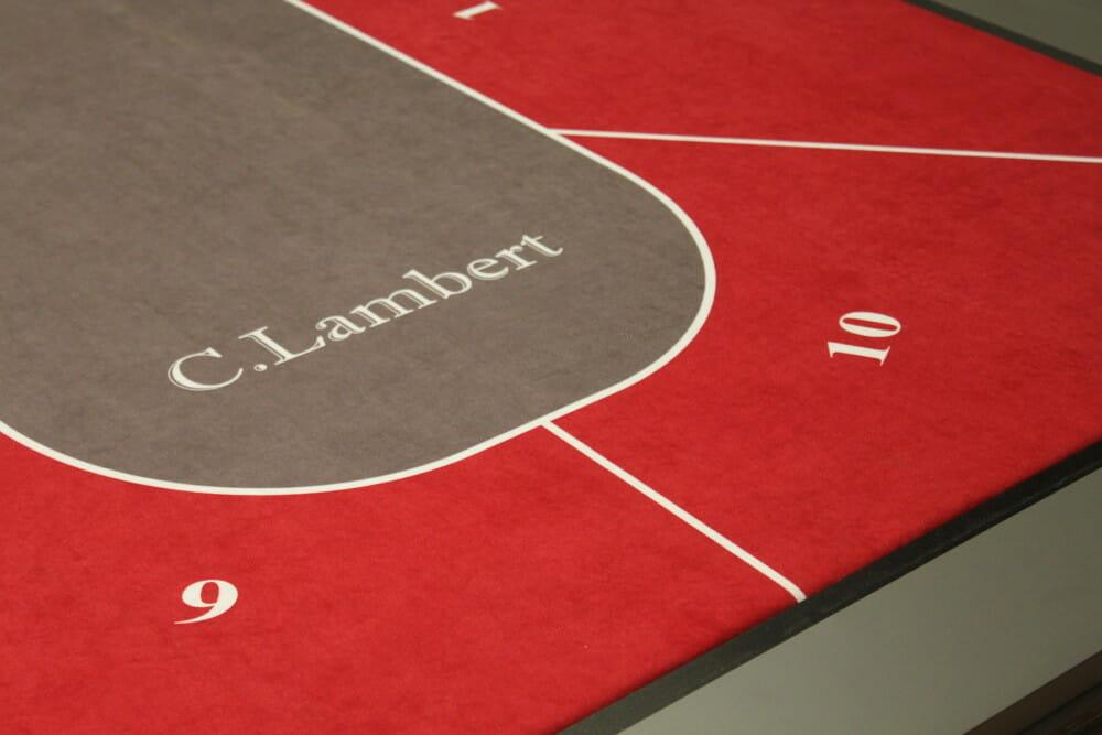 Mesa de billar Lambert - esterra de poker - Toulet