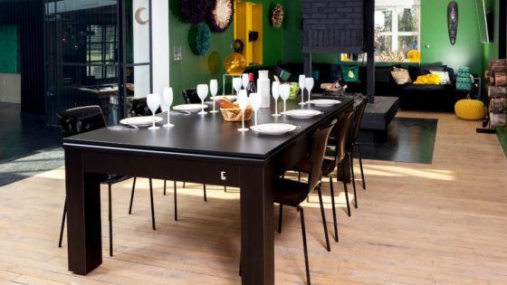 Mesa de billar convertible en una mesa - CL