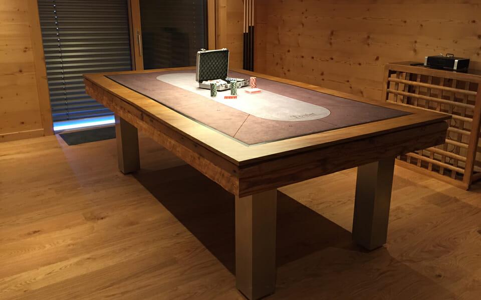 mesa de billar - mesa de póker
