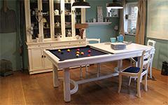 El billar clásico y simple: la mesa de billar Cottage