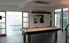 Mesa de billar design Loft - Billards Toulet