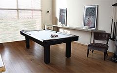 la moderna mesa de billar, ideal para tu interior