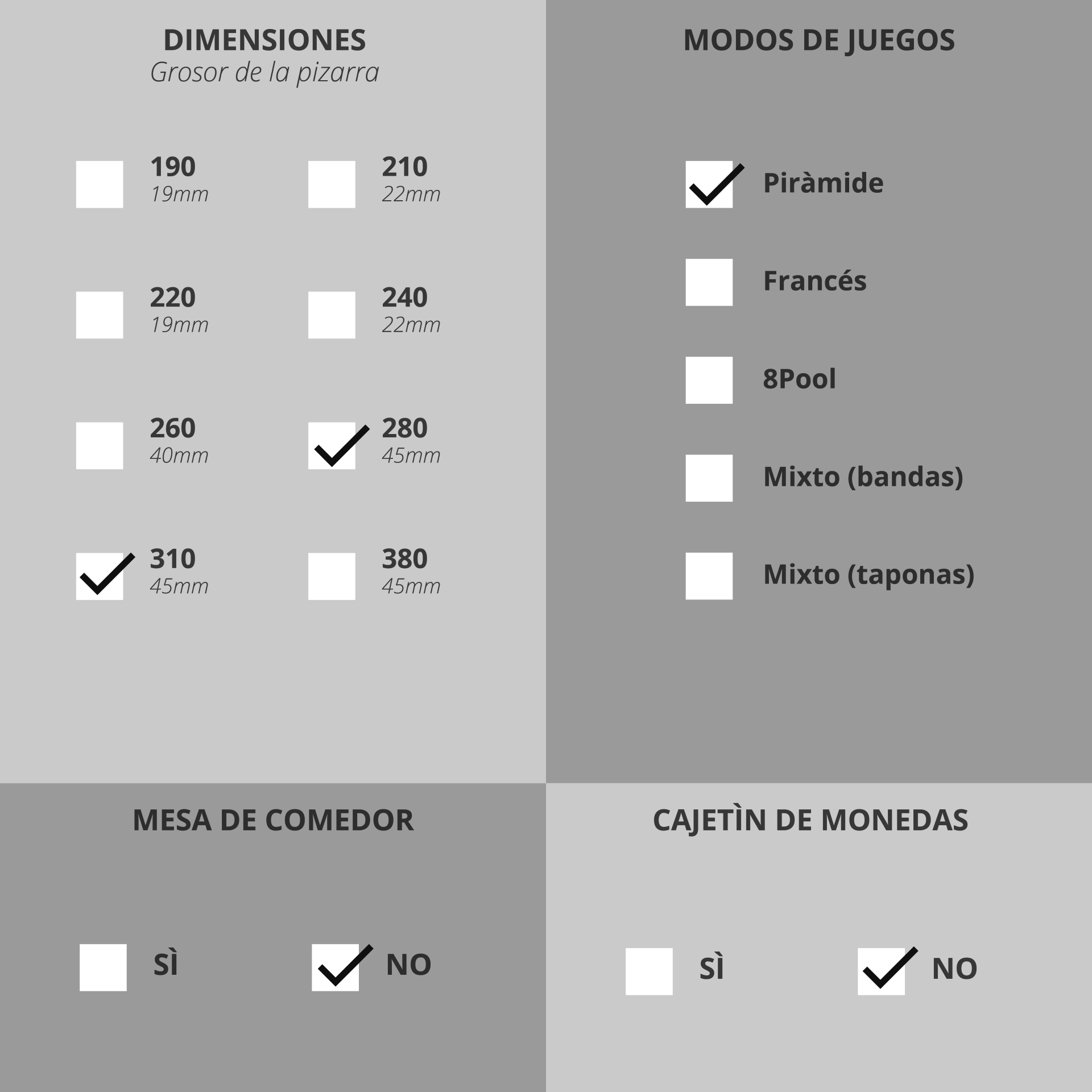 ES-BITALIS PYRAMIDE-Billards-Contemporain-Billards-Toulet-choix-des-options-01-01