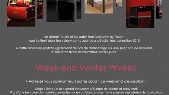 actualités-billards-toulet-Week-end-Ventes-privées-du-28-Novembre-au-1er-décembre-2014