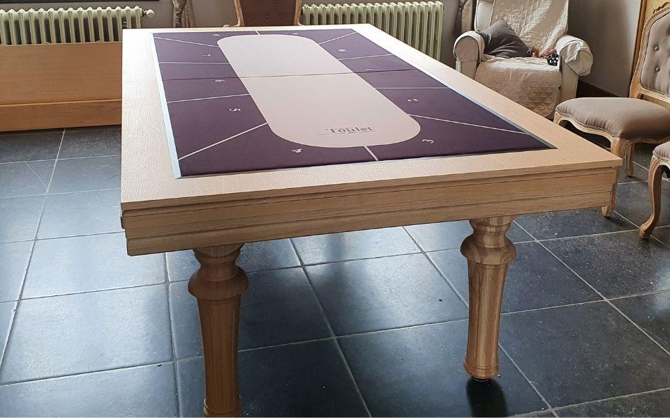 Billar clasico tablero poquer - Excellence - Billards Toulet