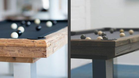 Billar pieza unica en madera - Megeve - Billard Toulet
