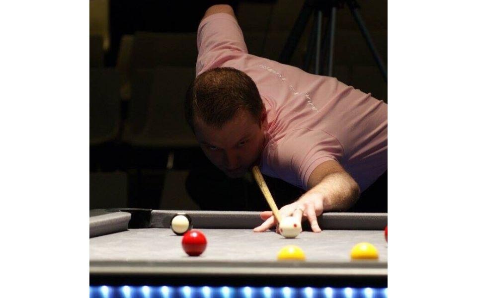 Jugador de snooker y 8 Pool - Johan Lorek