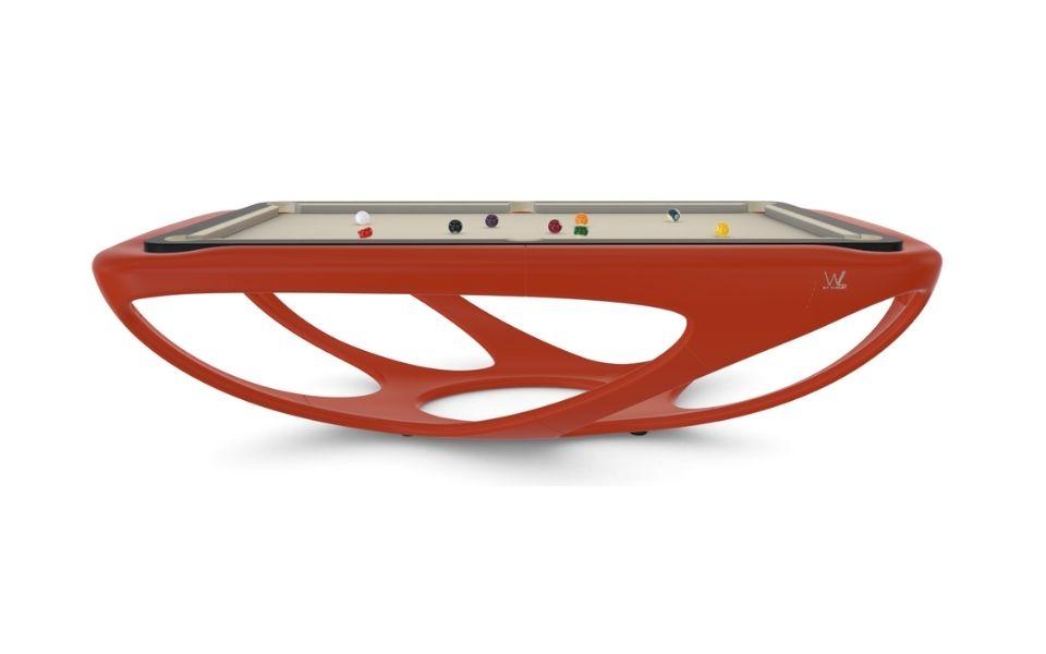 mesa de billar americano de alta gama - Whitelight - Toulet