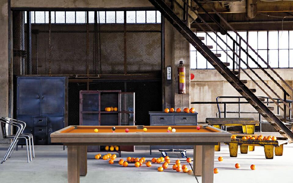 Mesa de billar moderna - Estilo industrial - Billards Toulet